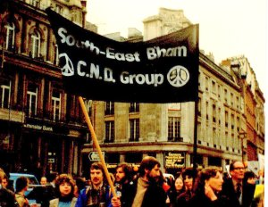 South-East Birmingham CND, Sunday October 26 1980 - the first of the 1980's Great CND Demos